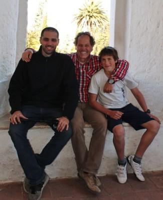Con Pablo Bonvin y su hijo Jeronimo en Altagracia