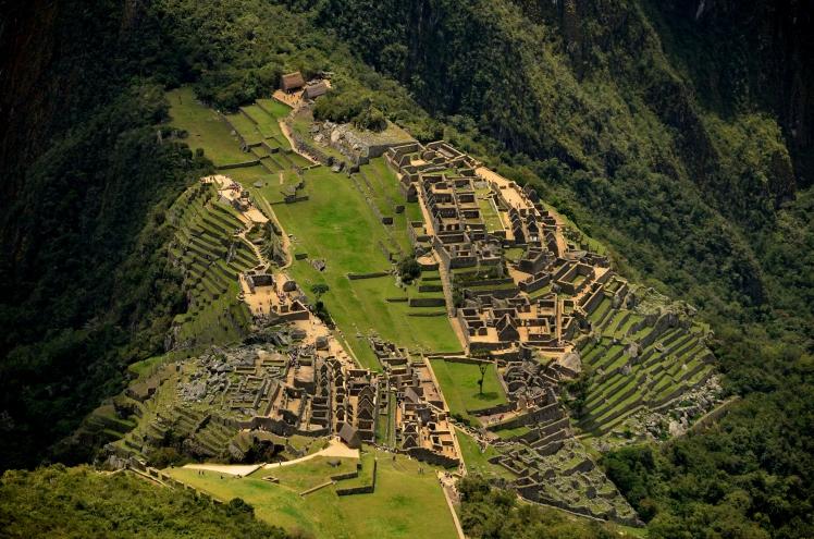 Vista de la Montaña Machu Picchu