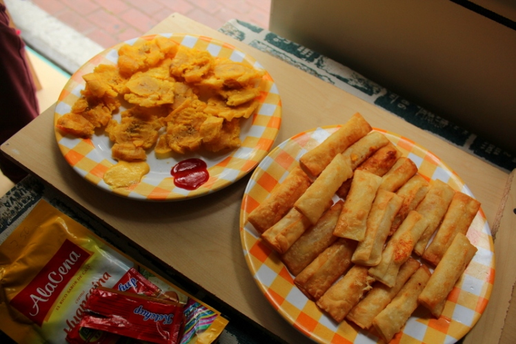 Patacones + Tequeños = Mmmm