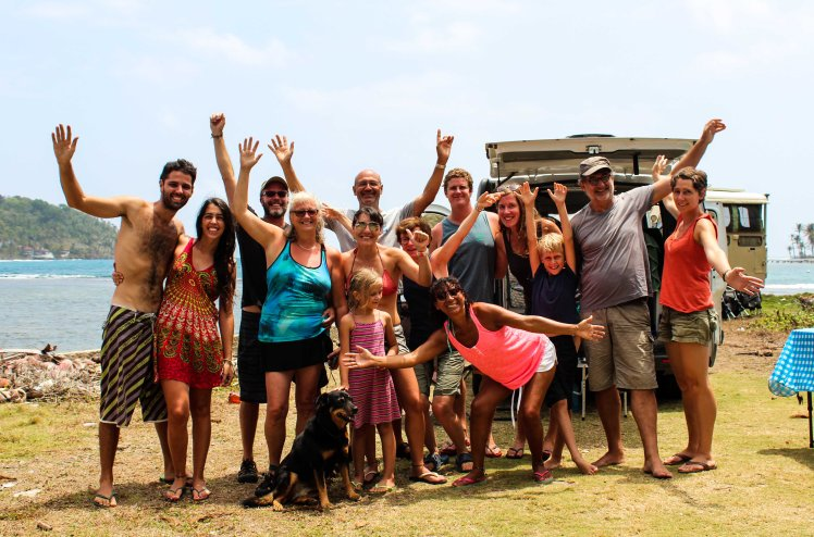Viajeros del mundo en La Guaira