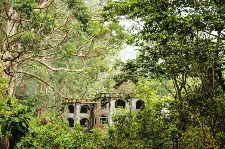 Casa abandonada en la montaña de Boquete