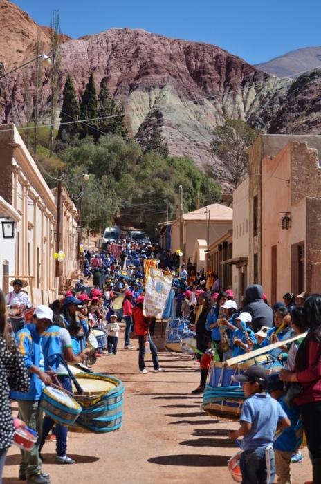 Festejos en Purmamarca, Jujuy