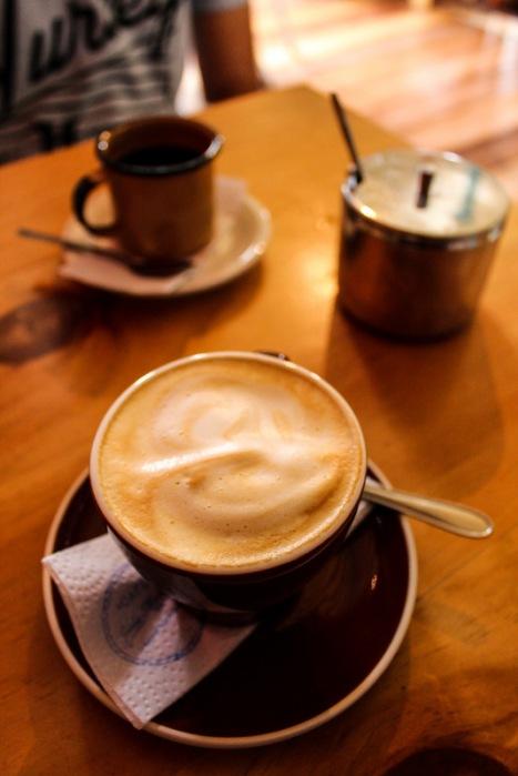 El sabor de un buen café colombiano