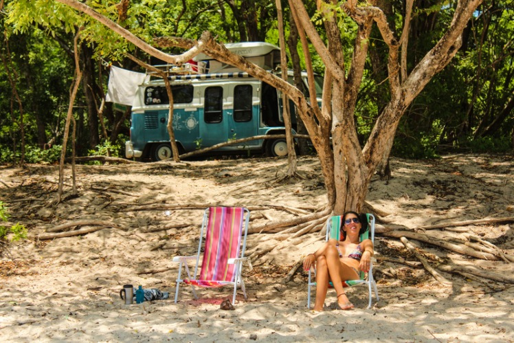 Relax en Playa Conchal, Pacífico costarricense