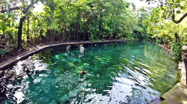 El Ojo de Agua en Ometepe