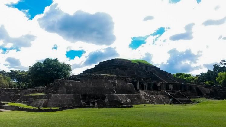 Ruinas de Tazumal en Chalchuapa