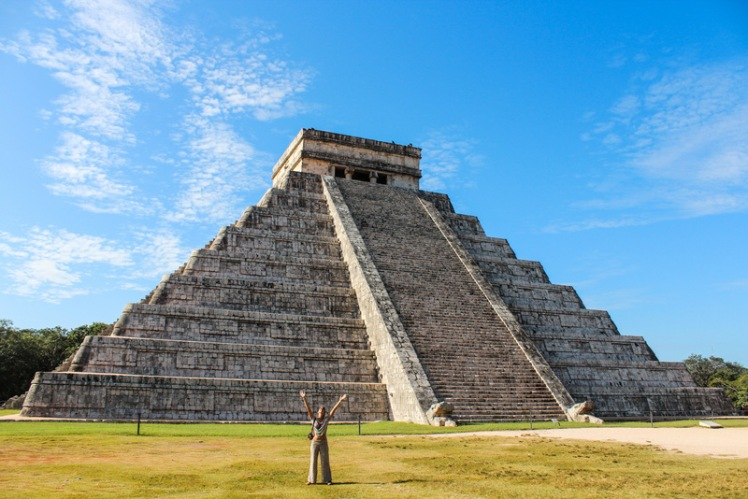 Pirámide de Kukulcan, la más importante de Chichen Itza