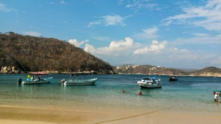 Bahía La Entrega en Huatulco