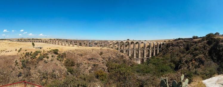 Arcos de Sitio en Tepotzotlan