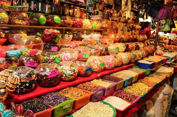 Mercado de la ciudad de Oaxaca