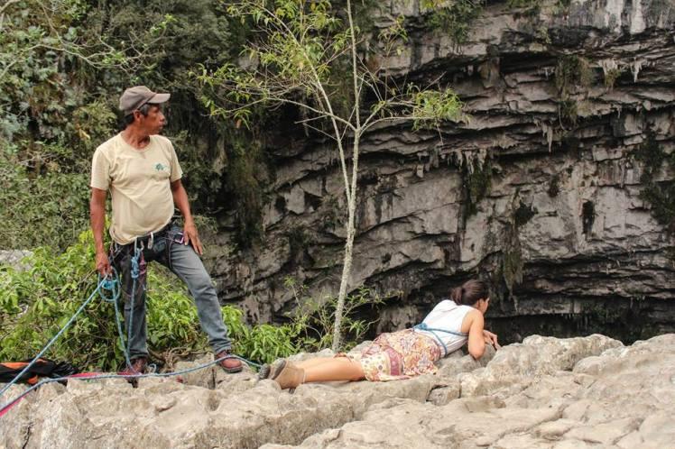 Asomando a ver el sótano, San Luis Potosi