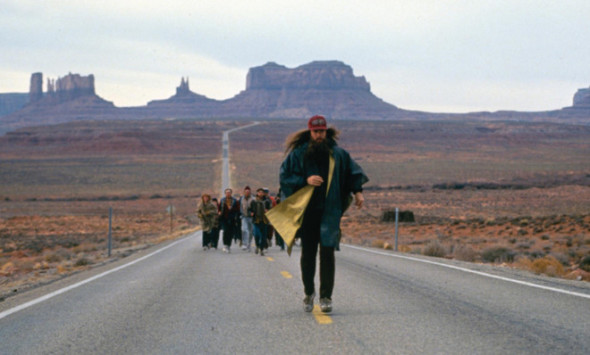 Forrest Gump caminando por Utah