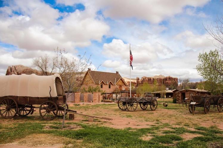 Bluff, pueblo de pioneros mormones