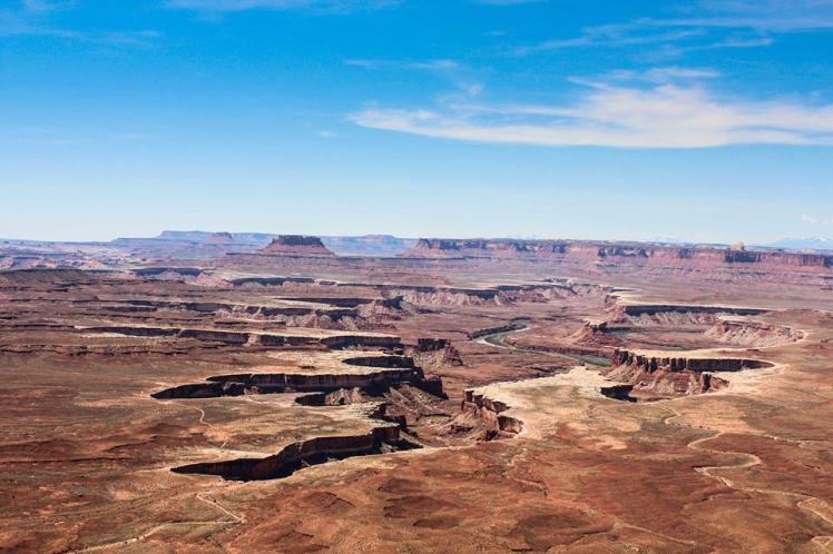 Los cañones vistos desde arriba / Canyons from above