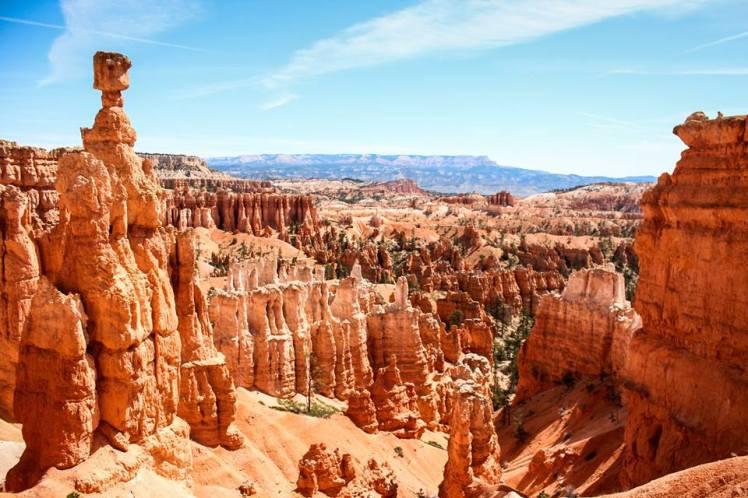 Los Hoodos en Bryce Canyon / The Hoodos at Bryce Canyon