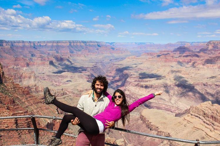 Bienvenidos al Gran Cañón! / Welcome to the Grand Canyon!