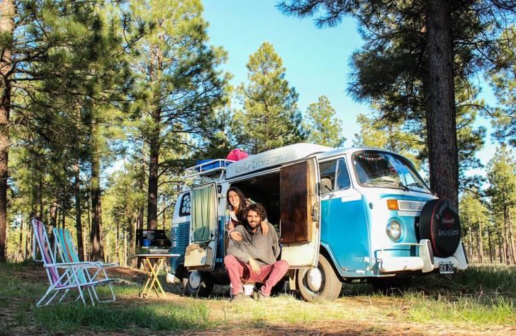 El bosque de Flagstaff, uno de nuestros lugares preferidos. / Flagstaff´s woods, one of our favorite places