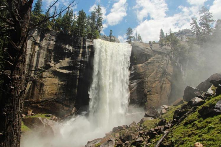 Cascada Vernal en Yosemite / Vernal Falls at Yosemite