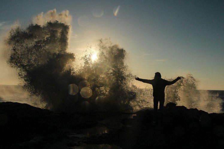 La fuerza del mar en el pozo de Thor / Sea´s force at Thort´s well