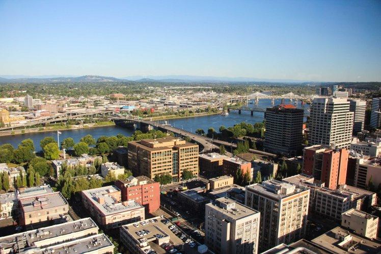 Portland desde arriba / Portland from above