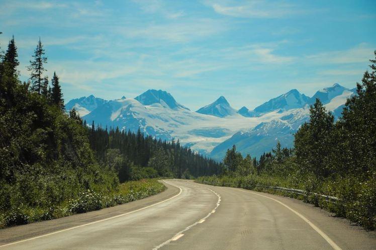 Camino a Valdez / In our way to Valdez