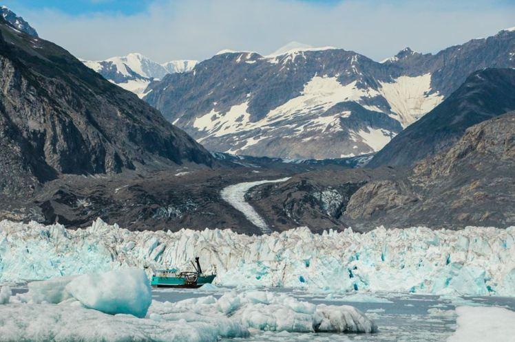 Glaciar Columbia