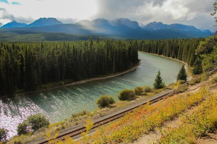 Bow Valley Parkway en Banff