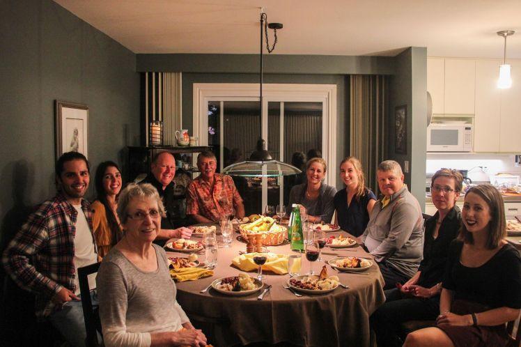 Día de Acción de Gracias con la familia Desroches en Midland / Thanksgiving with the Desroches family at Midland