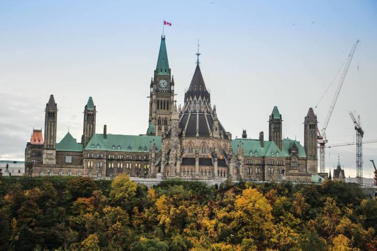 Palacio Legislativo de Ottawa / Ottawa´s Legislative Palace