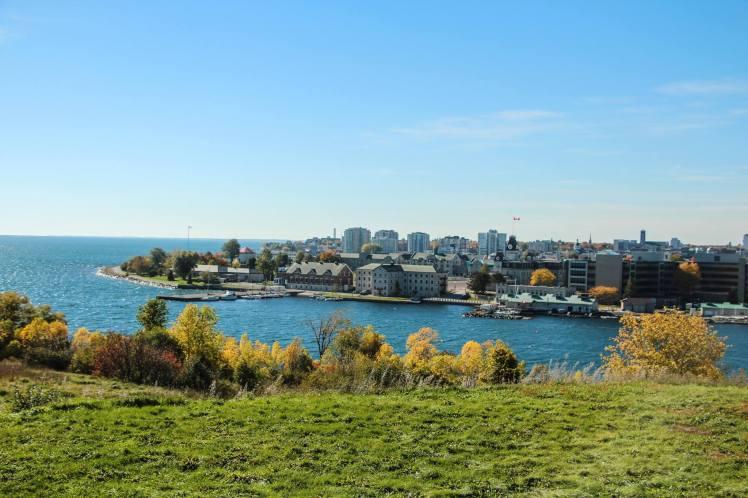Vista de Kingston desde el fuerte Henry. / View of Kingston from Fort Henry