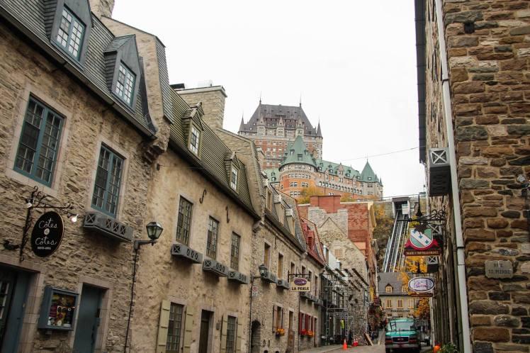 Por las calles de la ciudad vieja de Quebec / Old Quebec streets