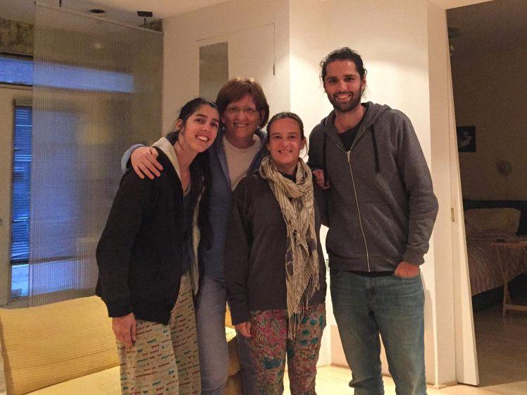 Almuerzo con amigos en Montreal / Lunch with Nadine, Aline and Roland