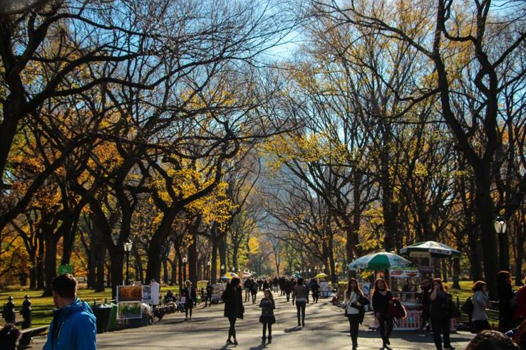 The Mall, una de las calles emblemáticas del Central Park