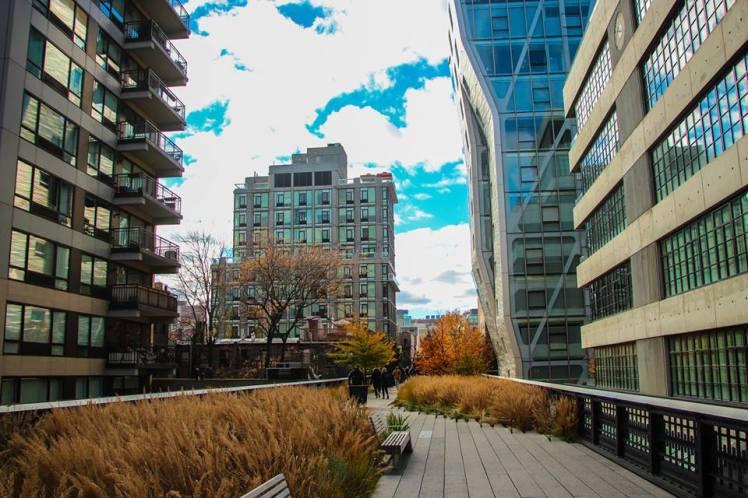Paseando por el High Line Park