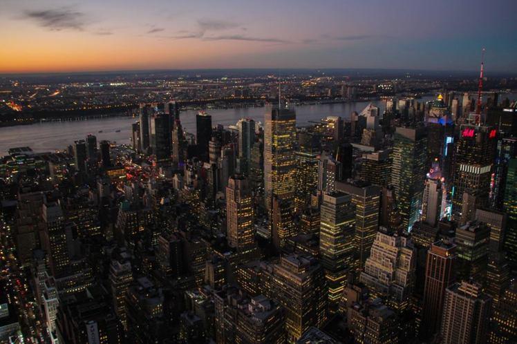 Vista de la ciudad desde el Empire State