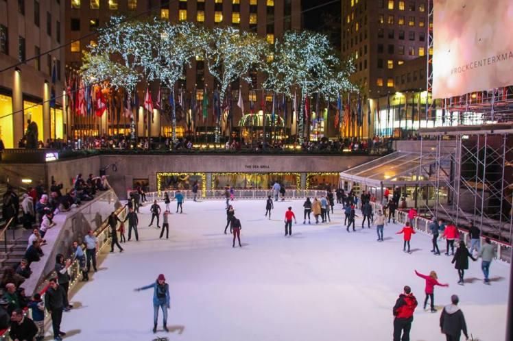 Rockefeller Center en Noviembre